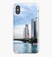 Chicago - View From Michigan Avenue Bridge iPhone Case/Skin