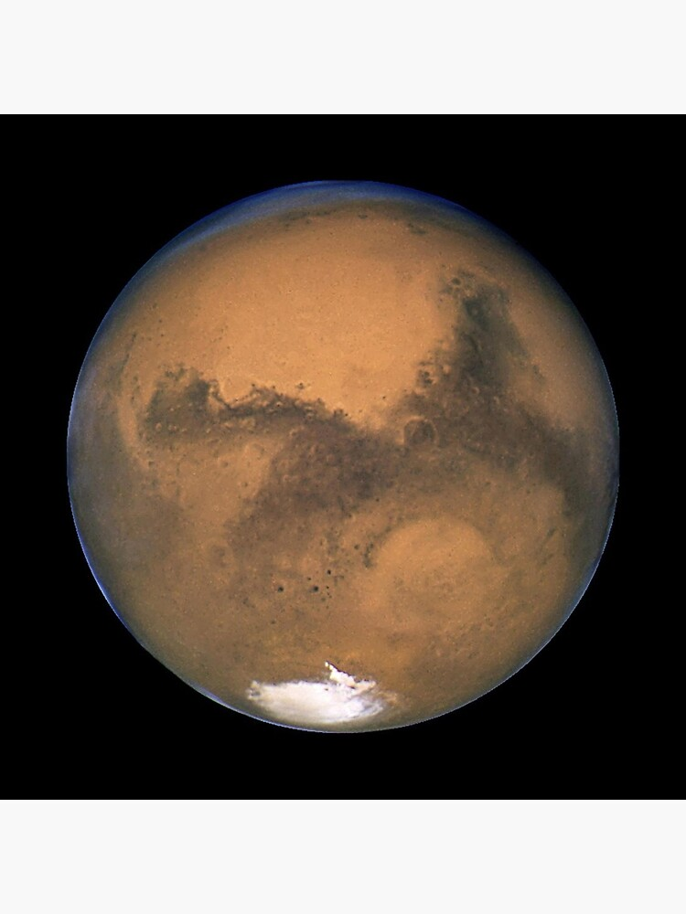 HUBBLE. MARS. Hubble Space Telescope 2003. by TOMSREDBUBBLE