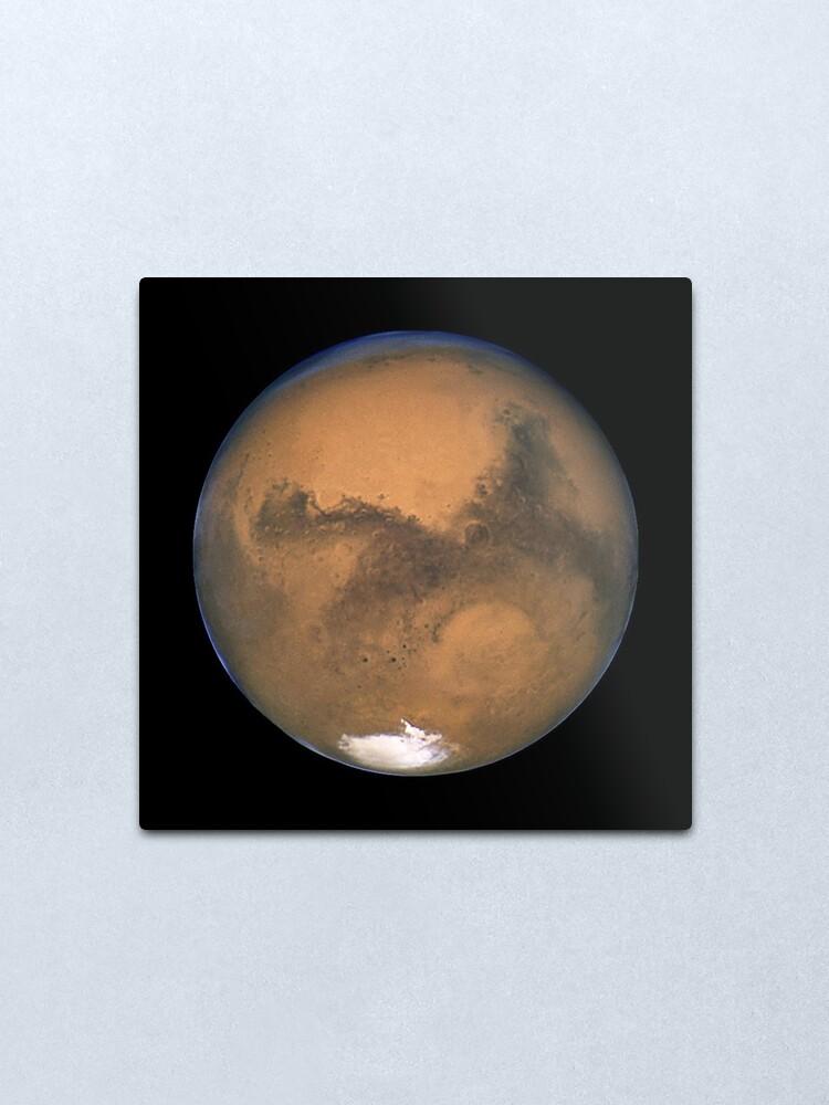 Alternate view of HUBBLE. MARS. Hubble Space Telescope 2003. Metal Print