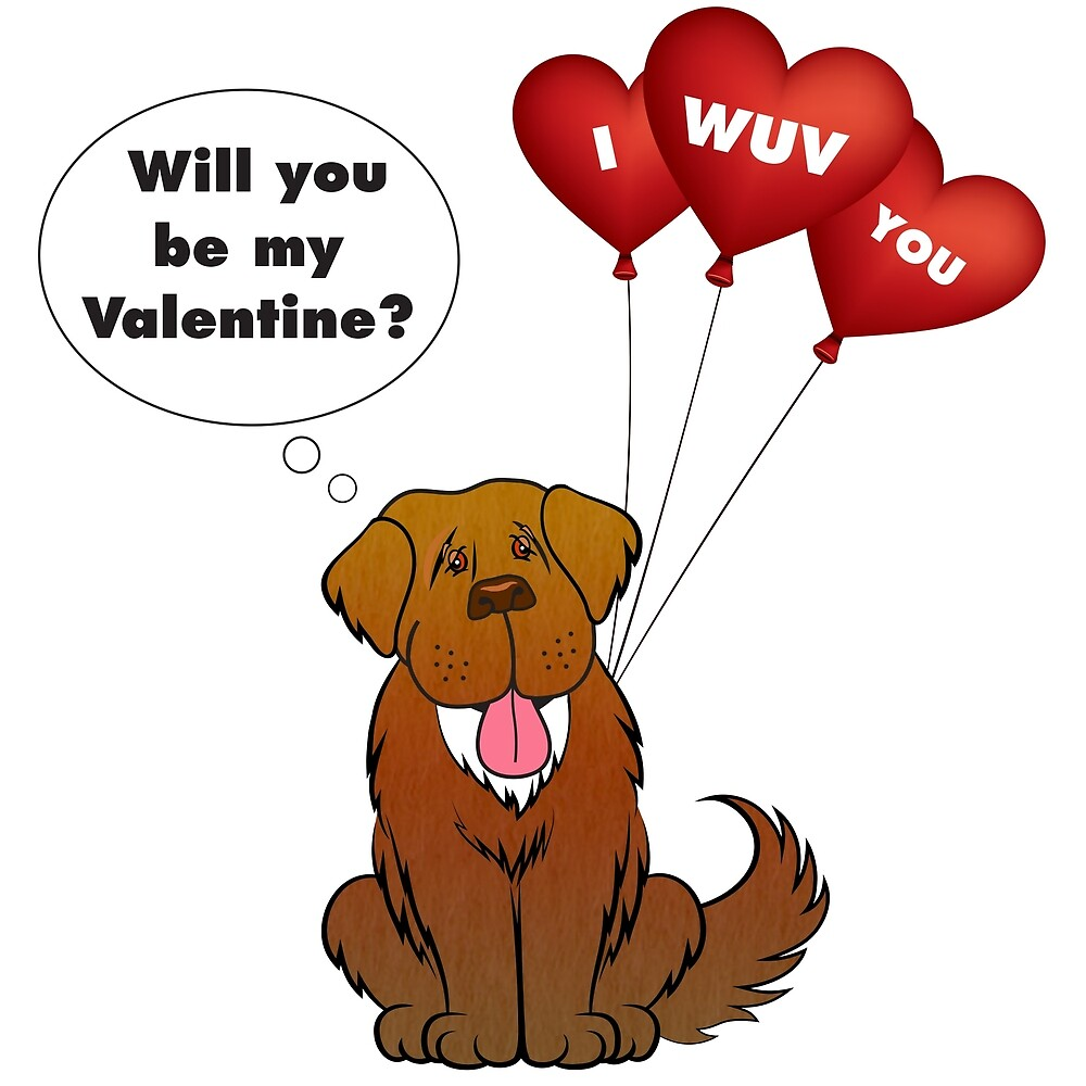 Will you be my Valentine? by Christine Mullis