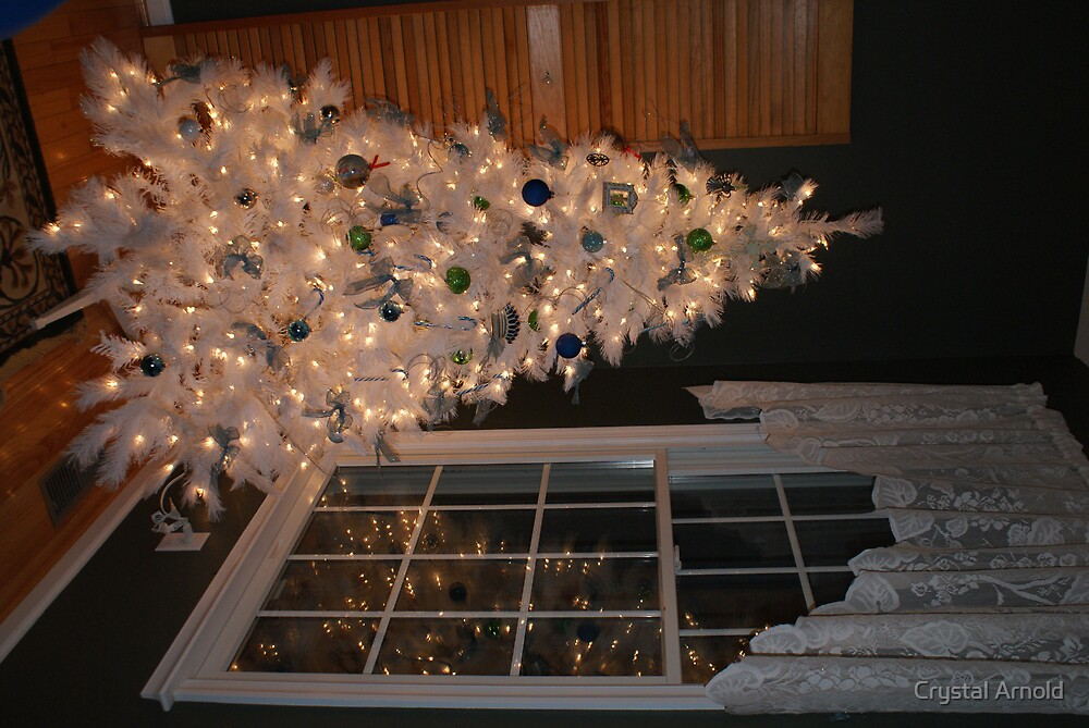White Christmas Tree by Crystal Arnold
