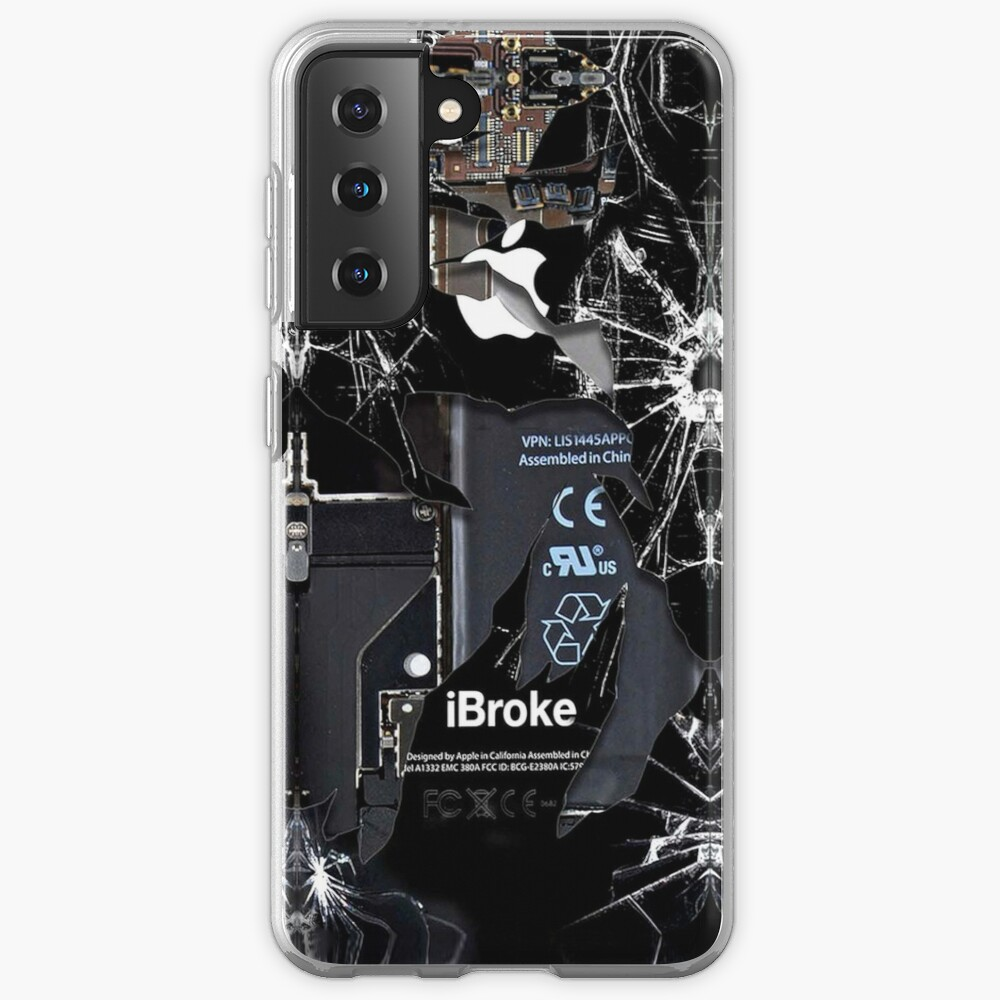 Broken Damaged handphone Case & Skin for Samsung Galaxy