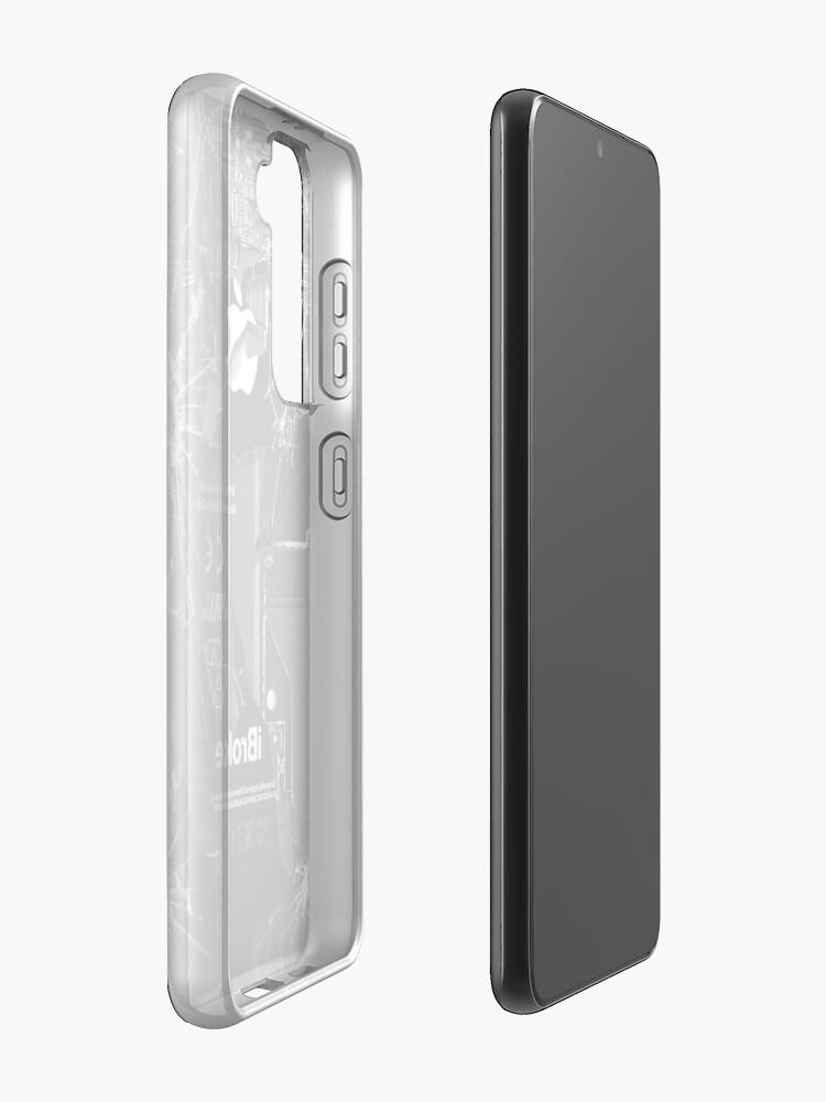 Alternate view of Broken Damaged handphone Case & Skin for Samsung Galaxy
