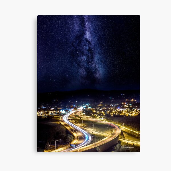 Prescott Milky Way Resort Canvas Print