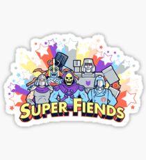 Super Fiends Sticker