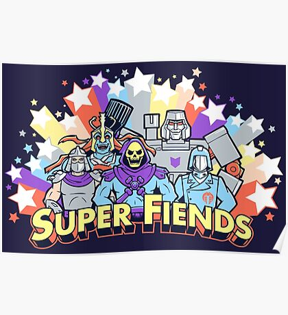 Super Fiends Poster