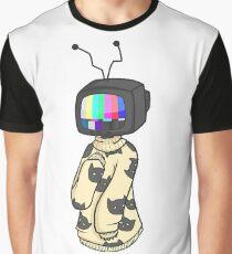 TV Head - Aesthetic Graphic T-Shirt