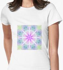 Fractal flower Women's Fitted T-Shirt