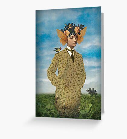 A daydream Greeting Card