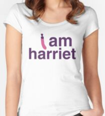 I am harriet (grace and frankie) Women's Fitted Scoop T-Shirt