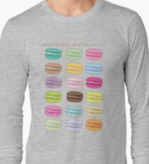 Which macaron are you? Long Sleeve T-Shirt
