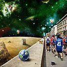 Space Walk by PETER GROSS