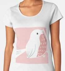 Blushing Bird Women's Premium T-Shirt