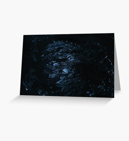 The universe overhead, it shines brightly as if just for us Greeting Card