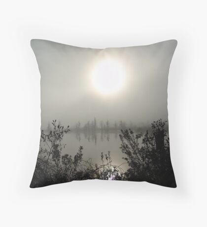 Burning Through Throw Pillow