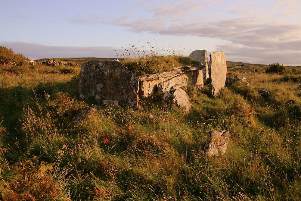 Burren Wedge Tomb by John Quinn
