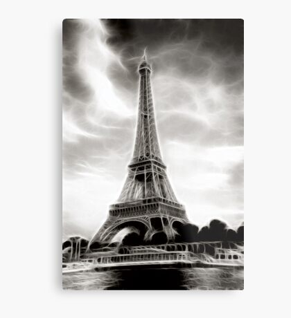 Eiffel Tower #1 Metal Print