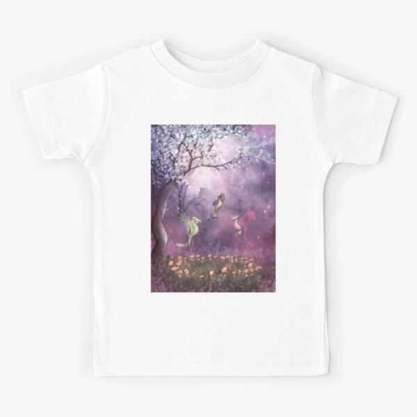 Faerie Dragon Trio Kids T-Shirt