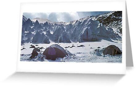 Shishapangma basecamp, Tibet by Istvan Hernadi