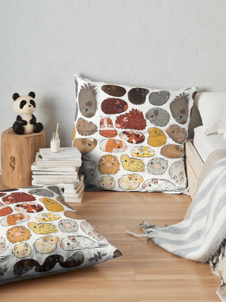 Alternate view of Guinea Pig Gradient Floor Pillow