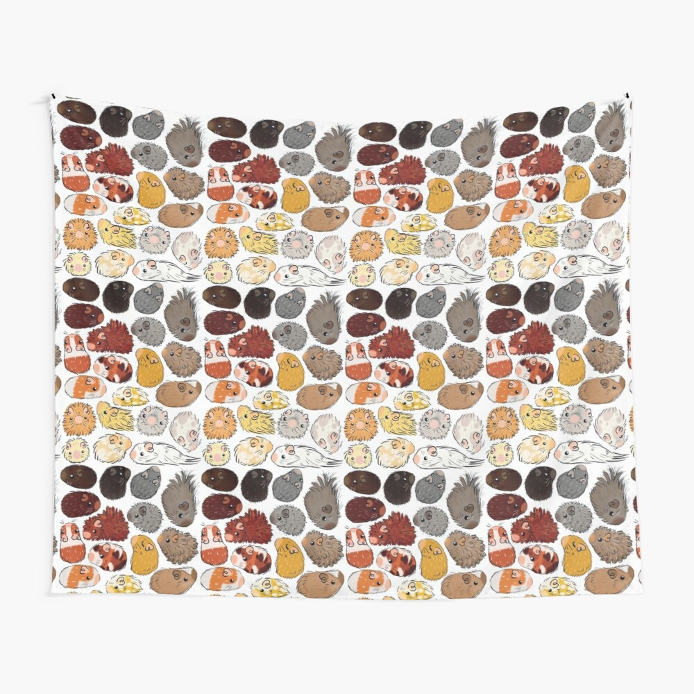 Guinea Pig Gradient Wall Tapestry