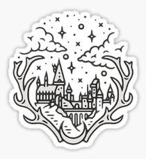 hogwarts castle Sticker