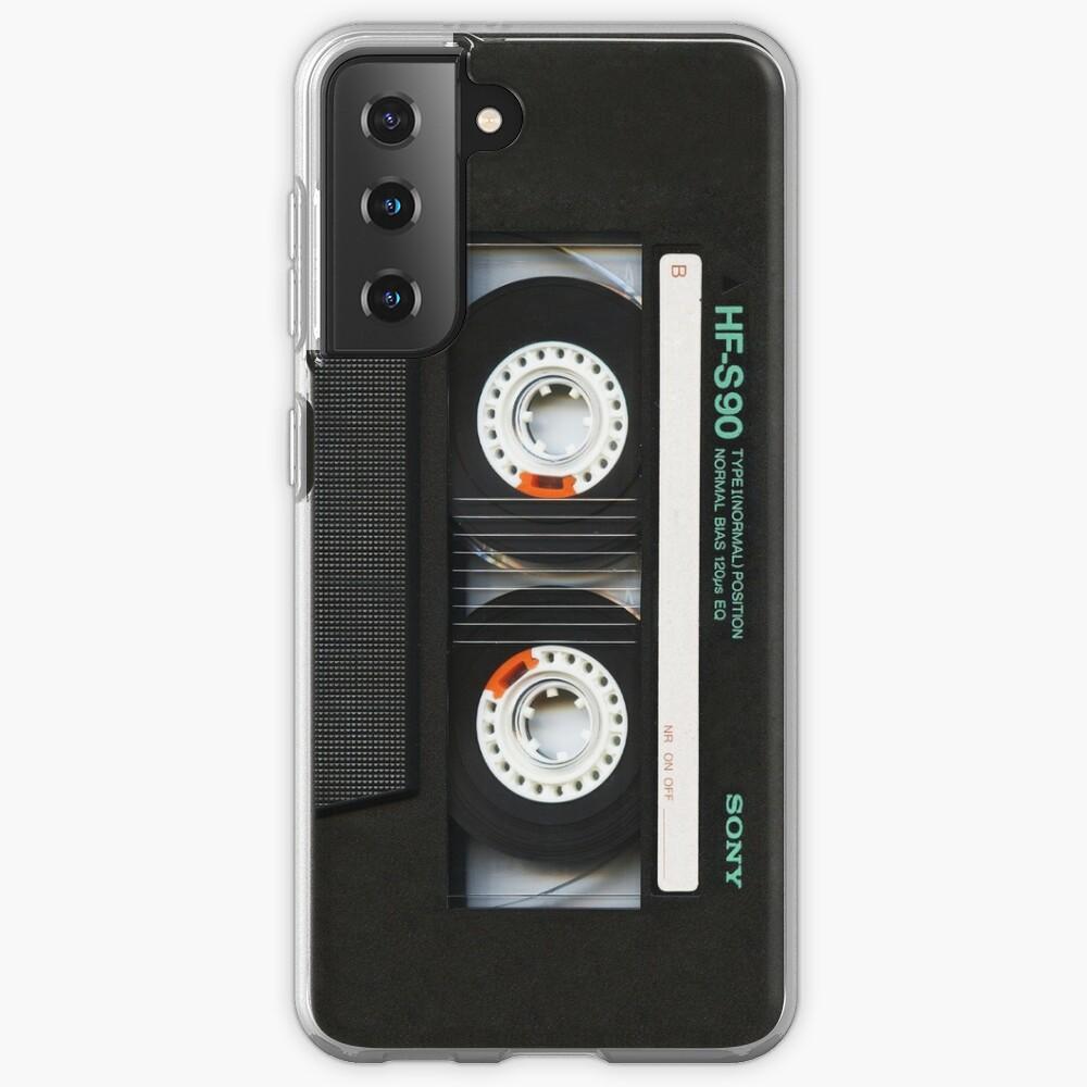Classic retro Black cassette tape Case & Skin for Samsung Galaxy
