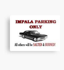 Impala Parking Only! Metal Print