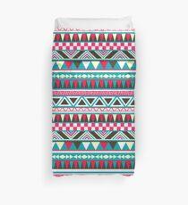 Retro Tribal Pattern Duvet Cover