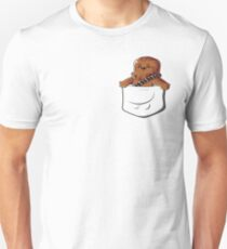 Wookie In A Pocket Cute Funny Fluffy Wooky Looking For A Hug Unisex T-Shirt