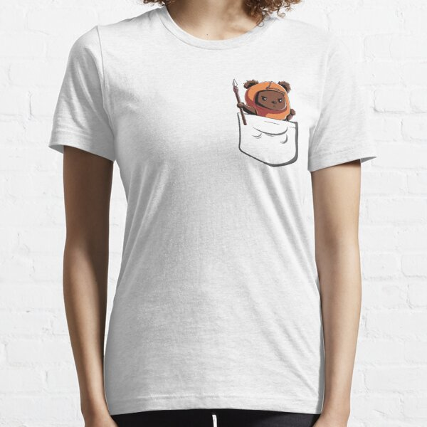 Ewok In A Pocket Cute Adorable and Protective Don't Get Too Close Essential T-Shirt