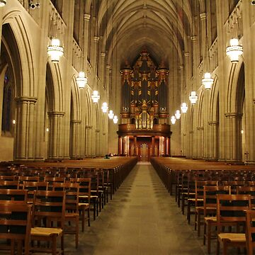 Interior Of Duke Chapel by Cynthia48