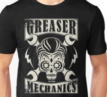Rockabilly Greaser Mechanics Vintage Design Unisex T-Shirt