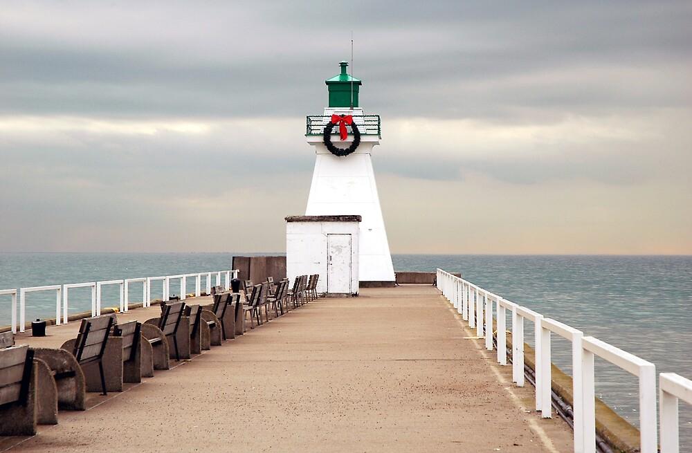 Port Dover Light by Roxane Bay