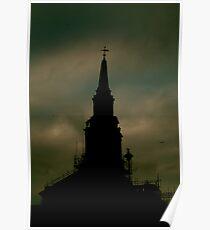 Church Skies Poster