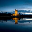 Ross Castle.KIllarney, Ireland. by Teddy  Sugrue