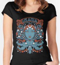 URANIA - Per Aspera Ad Astra Women's Fitted Scoop T-Shirt