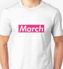 March Supreme Box Logo Parody Unisex T-Shirt