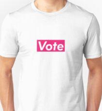 Vote Supreme Box Logo Parody Unisex T-Shirt