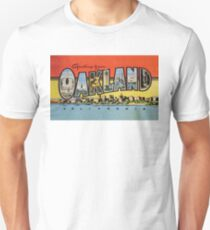 Greetings from Oakland California Unisex T-Shirt