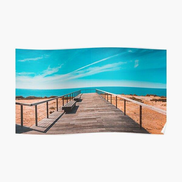 Boardwalk to Beach Poster