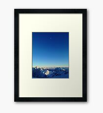 Views from the 'Spitze  Framed Print