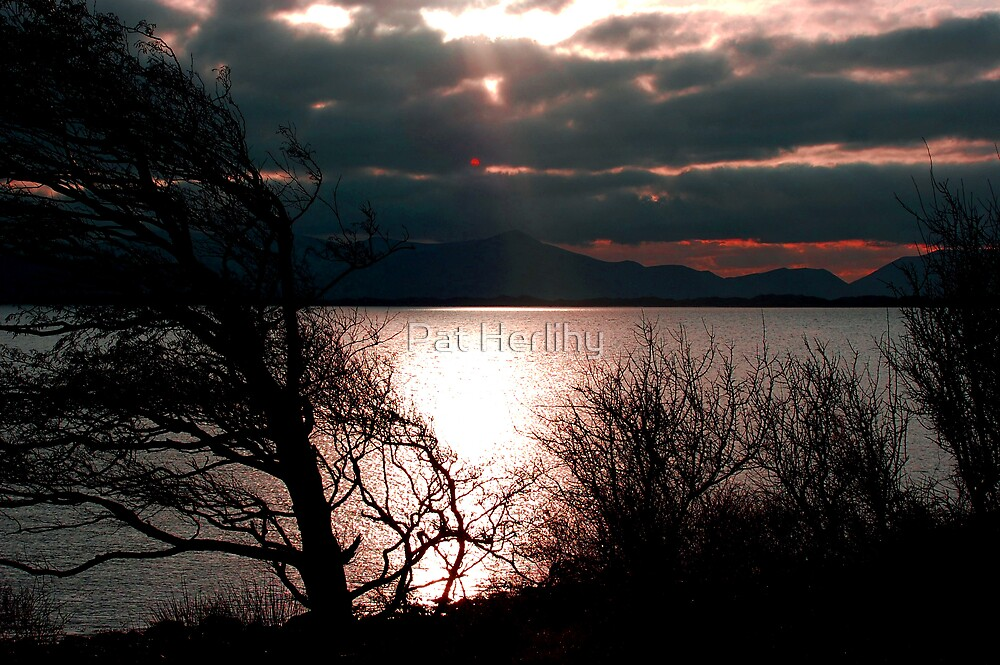 Inch Sunset by Pat Herlihy