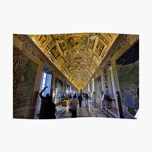 Hall of Maps - Vatican City Poster