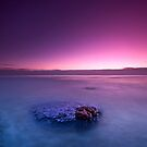 Dunraven Bay at Sunset by antonywilliams