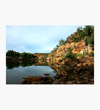 Ross Graham Lookout, Kalbarri National Park Photographic Print
