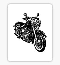 moto cruiser Sticker