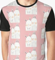 Two rabbits in love Graphic T-Shirt