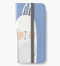 Two rabbits in love iPhone Wallet/Case/Skin