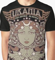URANIA Per Aspera Ad Astra VINTAGE Graphic T-Shirt